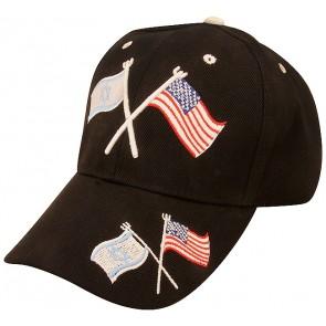 American and Israeli Flag - Baseball Cap