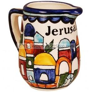 Cream Jug - Jerusalem Ceramic