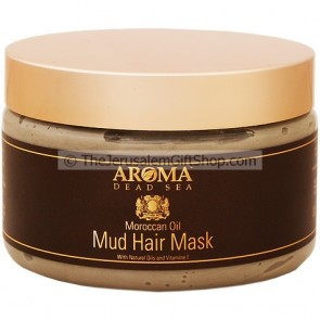 Moroccan Oil Mud Hair Mask from Aroma