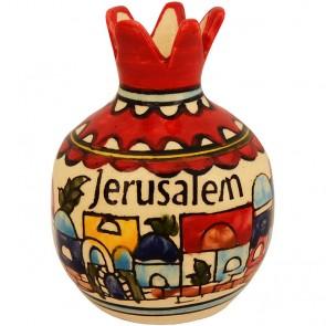 Ceramic Pomegranate - Jerusalem Design