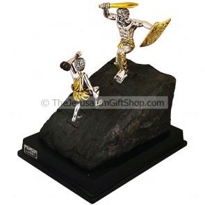David and Goliath Ornament
