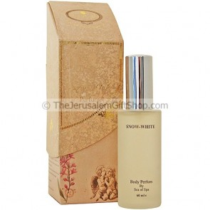 Snow White Body Perfume from Dead Sea Minerals