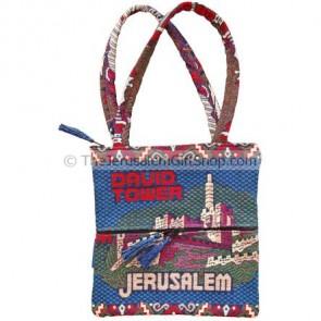 Druze Shoulder Bag - Tower of David
