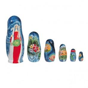 Yair Emanuel Hand-Painted Babushka Dolls Set - Figures