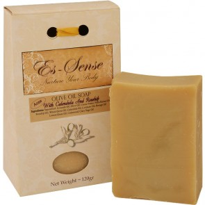 Es-Sense Olive Oil Soap - Calendula and Rosehip for Acne