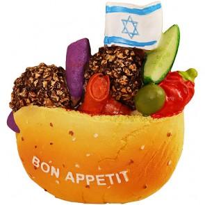 Israeli Falafel Fridge Magent
