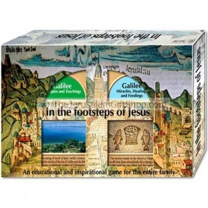 In the footstep of Jesus - family game