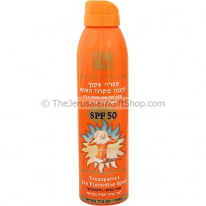 Transparant Sun Protection Spray