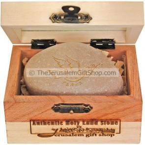 Holy Land Stone - Shalom Peace Dove