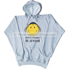 Don't Worry Be Jewish Hoodie
