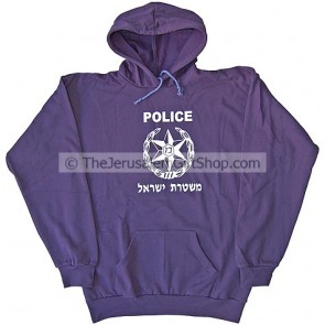 Israeli Police Hoodie