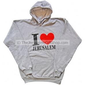 I Love Jerusalem Hoodie