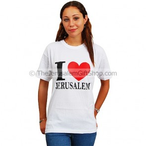 I Love Jerusalem T-Shirt