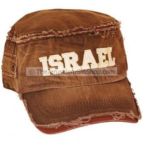 Worn Look Israel Cap