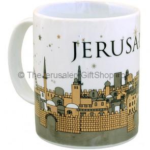 Large Souvenir 'Jerusalem' Mug