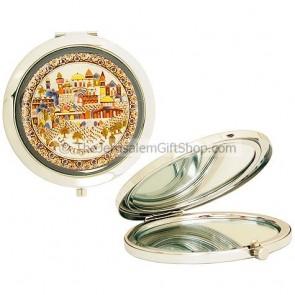 Compact Mirror - Jerusalem