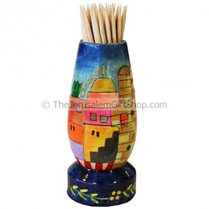 Jerusalem Toothpick Holder