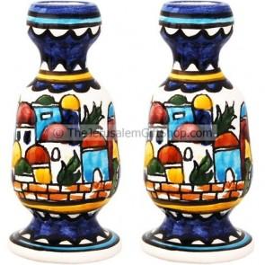 Armenian style - Jerusalem Candlesticks