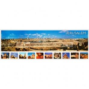 Jerusalem Panorama Poster