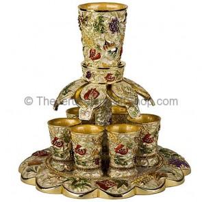 Seven Species Wine Fountain - Ivory