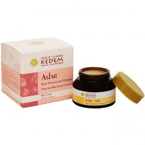 Asfar - Protective Balm by Kedem - open jar