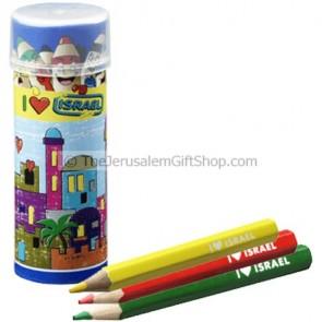 Colored Pencils - Jerusalem