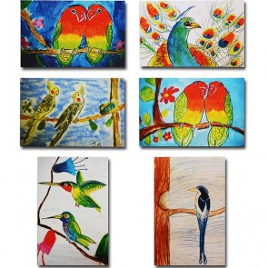 Makor HaTikva 'Exotic Bird Collection' Card Set