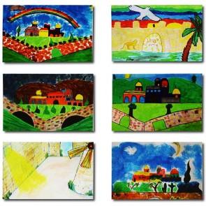 """Makor HaTikva """"City of David"""" Card Set"""