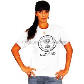 Mossad Logo T-Shirt - White