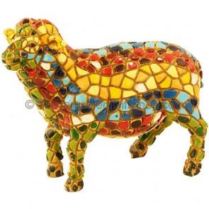 Mosaic Sheep - Holy Land Souvenir