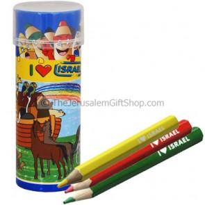 Colored Pencils - Noah's Ark