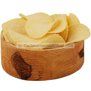Olive Wood Snack Bowl