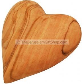 Olive Wood Heart