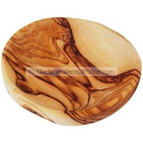 Olive Wood Round Dish