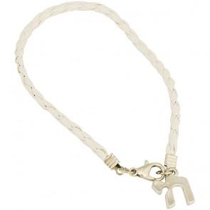 Chai - 'Life' Bracelet in White