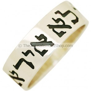 Psalms 118:6 The Lord is on my side - ring