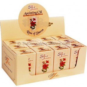 Display Case - Rose of Sharon Anointing Oil