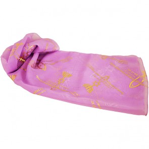 Biblical Scarf - Grafted In Romans 11:19 - Lilac