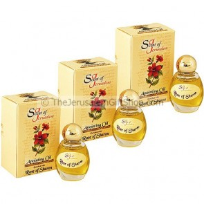 Scent of Jerusalem Rose of Sharon Anointing Oil - Extra Value 3 Pack