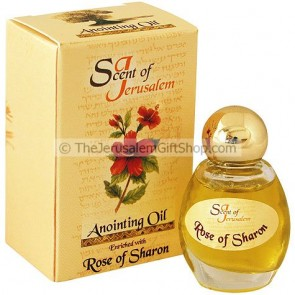Scent of Jerusalem - Anointing Oil - Rose of Sharon