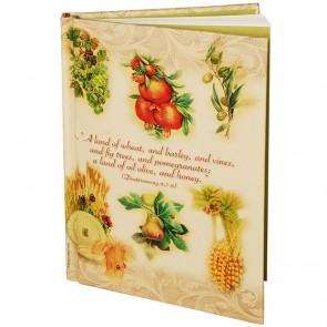 Seven Species (Deuteronomy) Notepad
