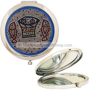 Compact Mirror - Loaves and Fishes Miracle at Tabgha