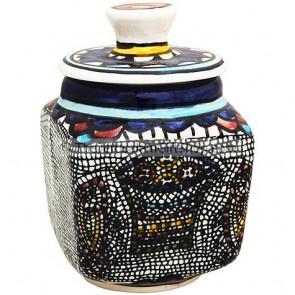Tabgha Sugar Pot - Square