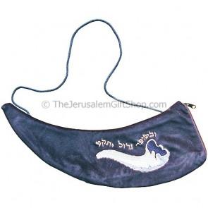 Velvet Shofar Bag for Rams Horn