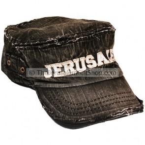 Worn Look Jerusalem Cap