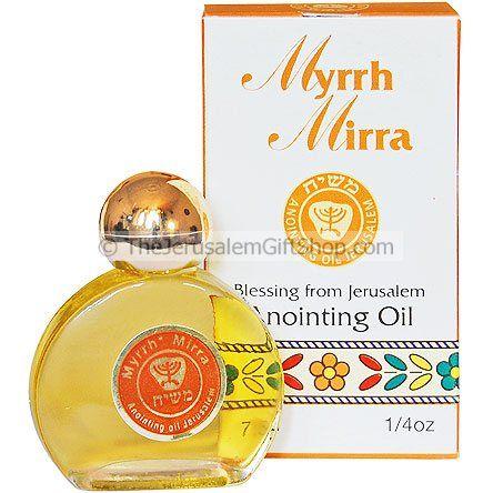 Anointing Oil - Myrrh