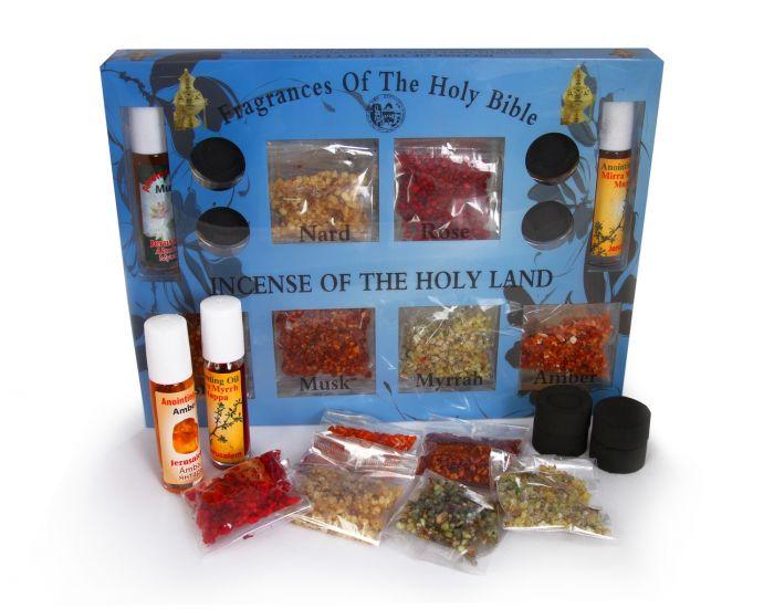 Holy Land Incense set: 7 fragrances