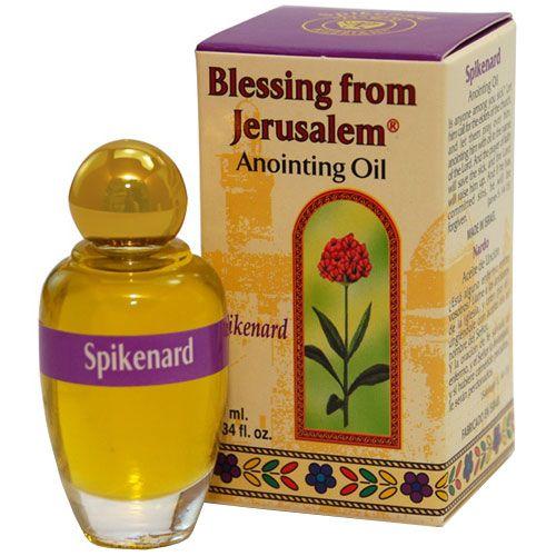 Blessing from Jerusalem Anointing Oil - Spikenard