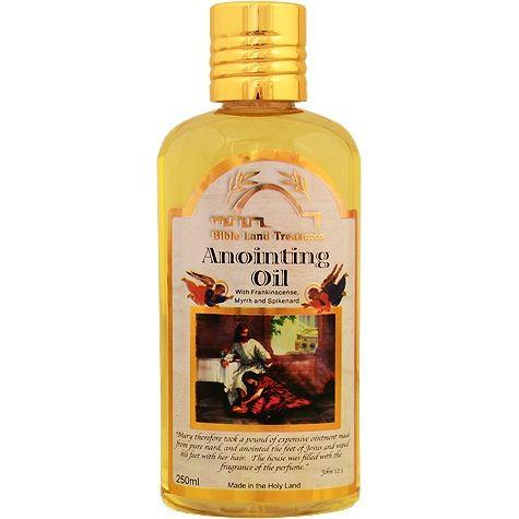 Frankincense Myrrh and Spikenard Anointing Oil - 250ml