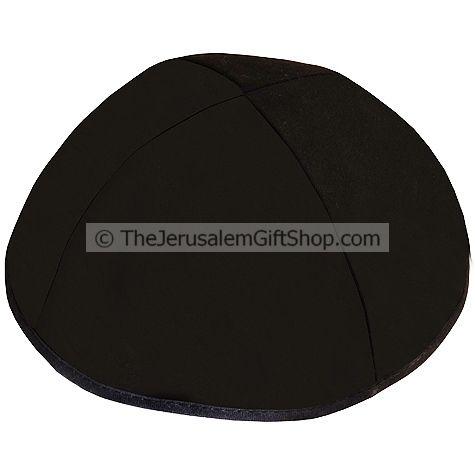 Plain Black Kippa